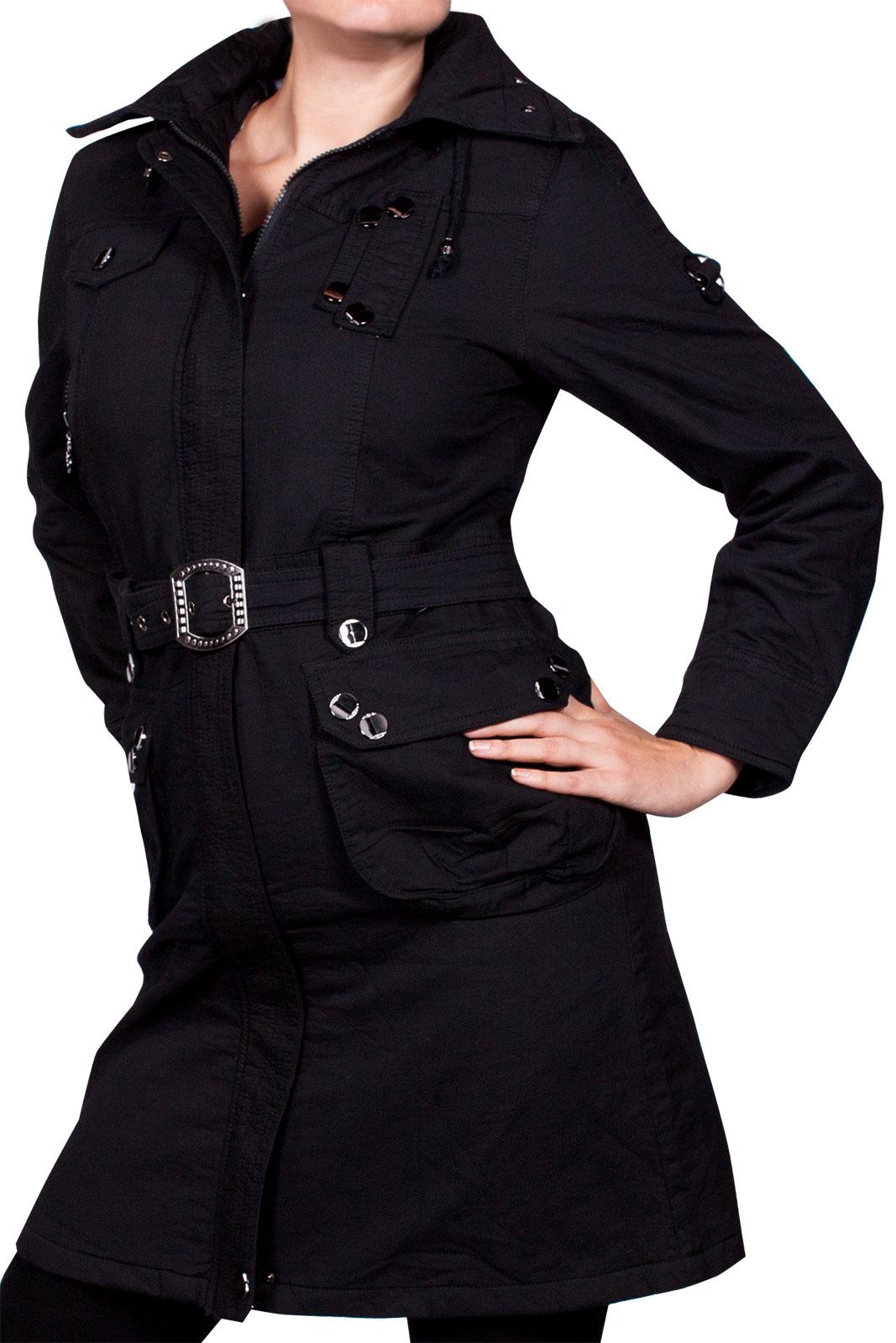 luxus damen wintermantel warm jacke lang cotton mantel. Black Bedroom Furniture Sets. Home Design Ideas