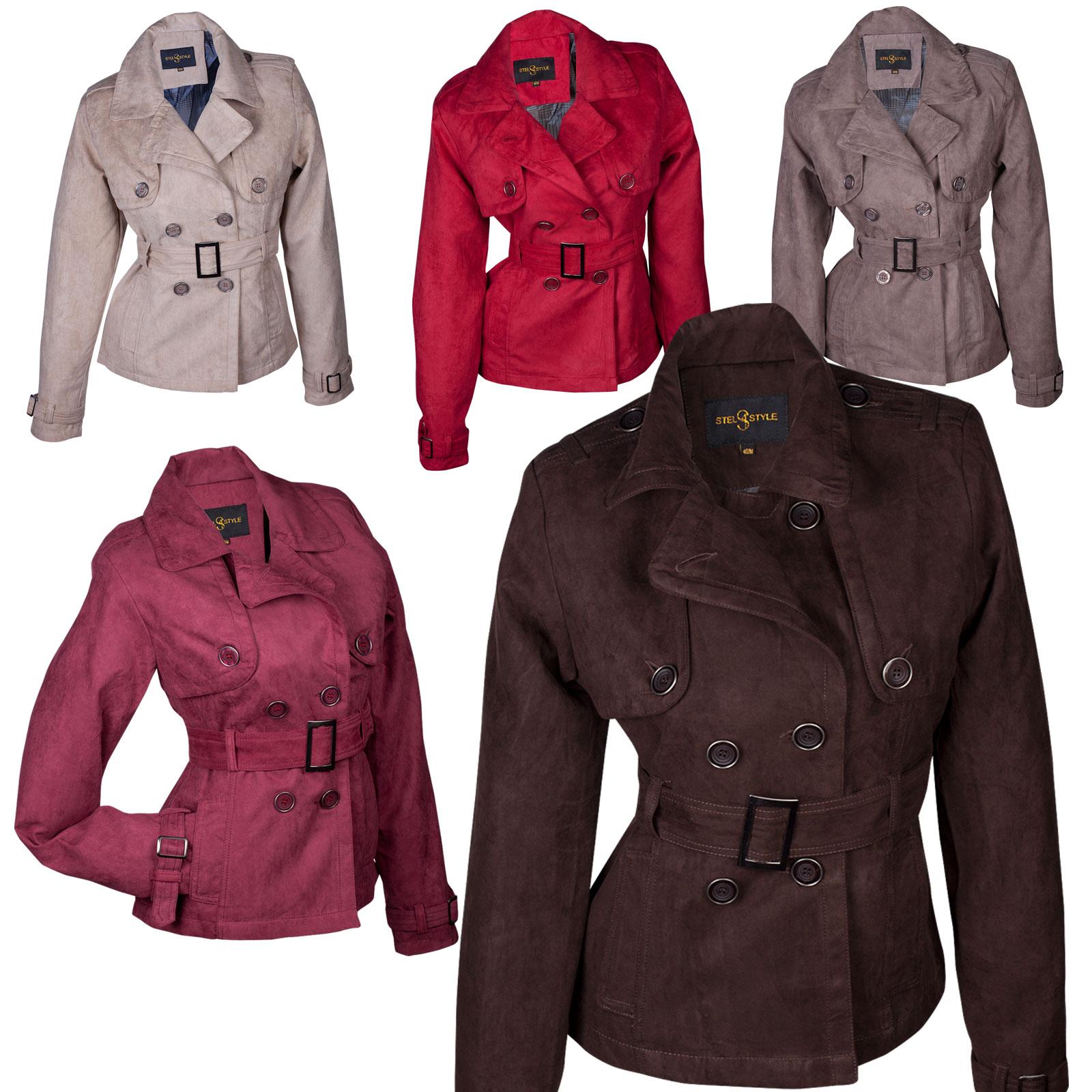 s oliver damen mantel jacke women jacket coat trench. Black Bedroom Furniture Sets. Home Design Ideas