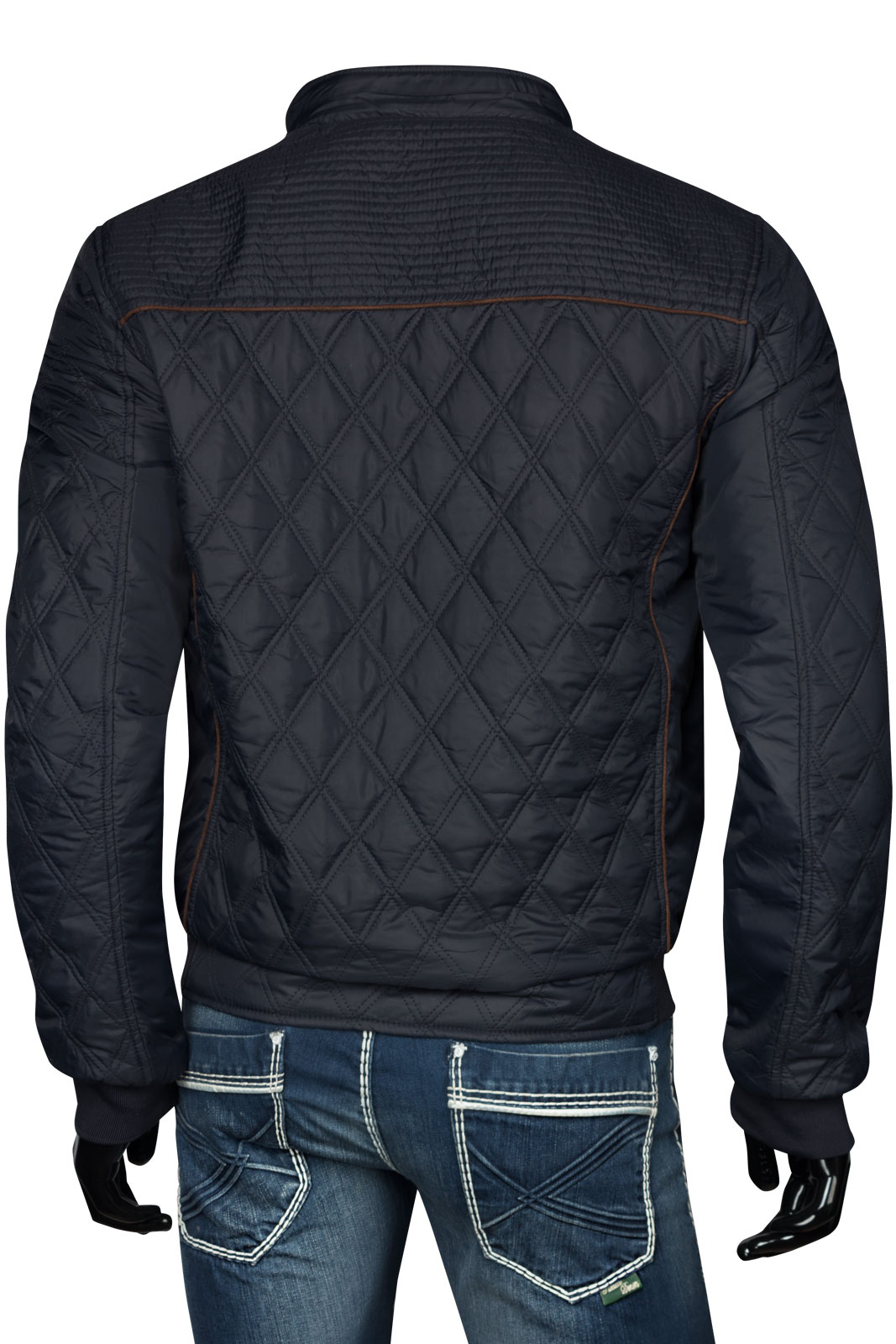 herren stepp jacke windbreaker blouson bergangsjacke sportjacke biker ebay. Black Bedroom Furniture Sets. Home Design Ideas