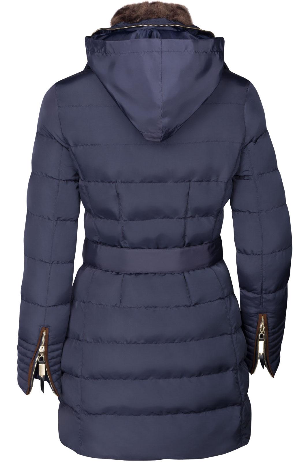 damen winter parka mantel gef ttert jacke fell kragen kapuze lang alaska ebay. Black Bedroom Furniture Sets. Home Design Ideas