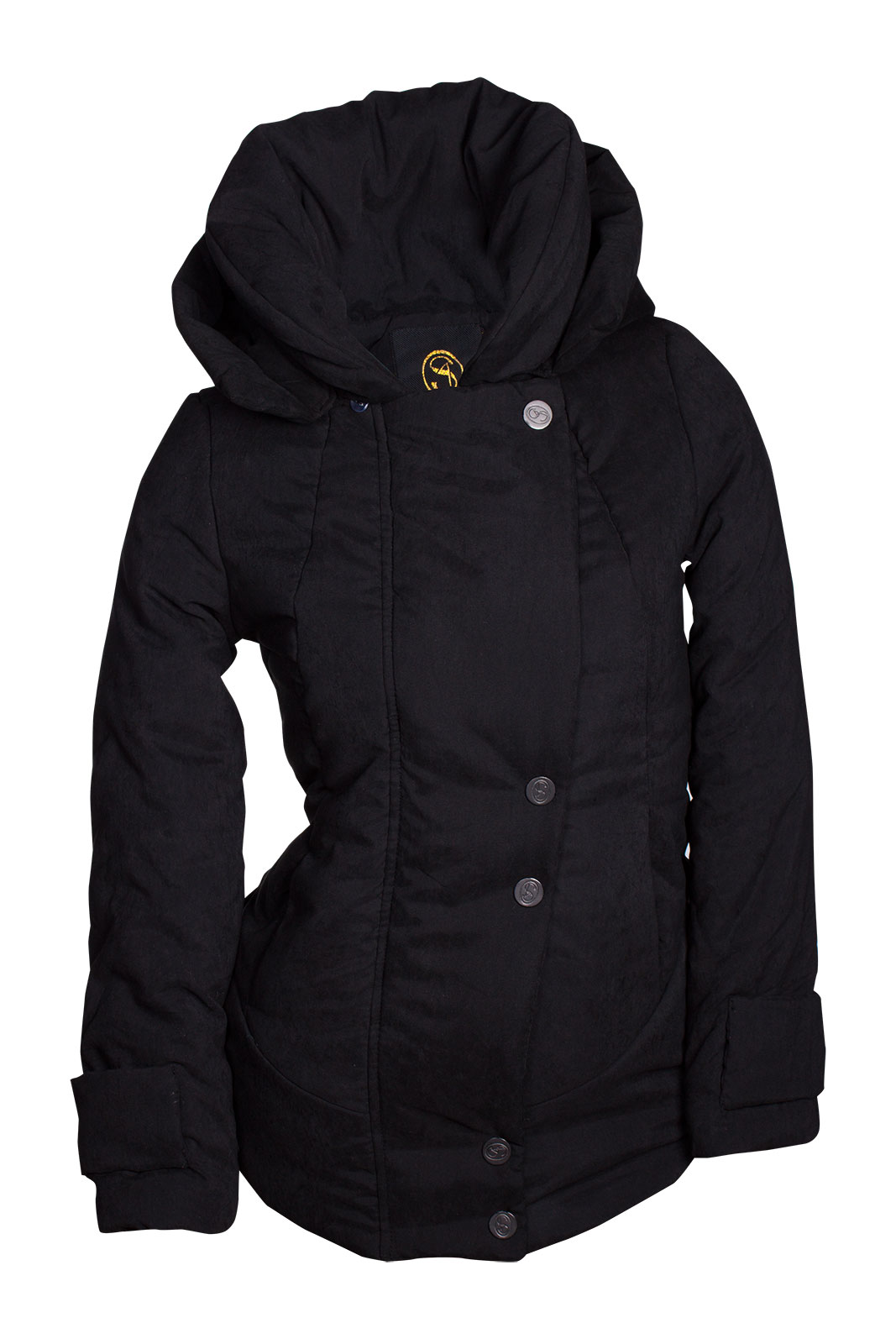 winter damen jacke parka kapuze mantel daunen winterjacke outdoor warm s m l xl ebay. Black Bedroom Furniture Sets. Home Design Ideas