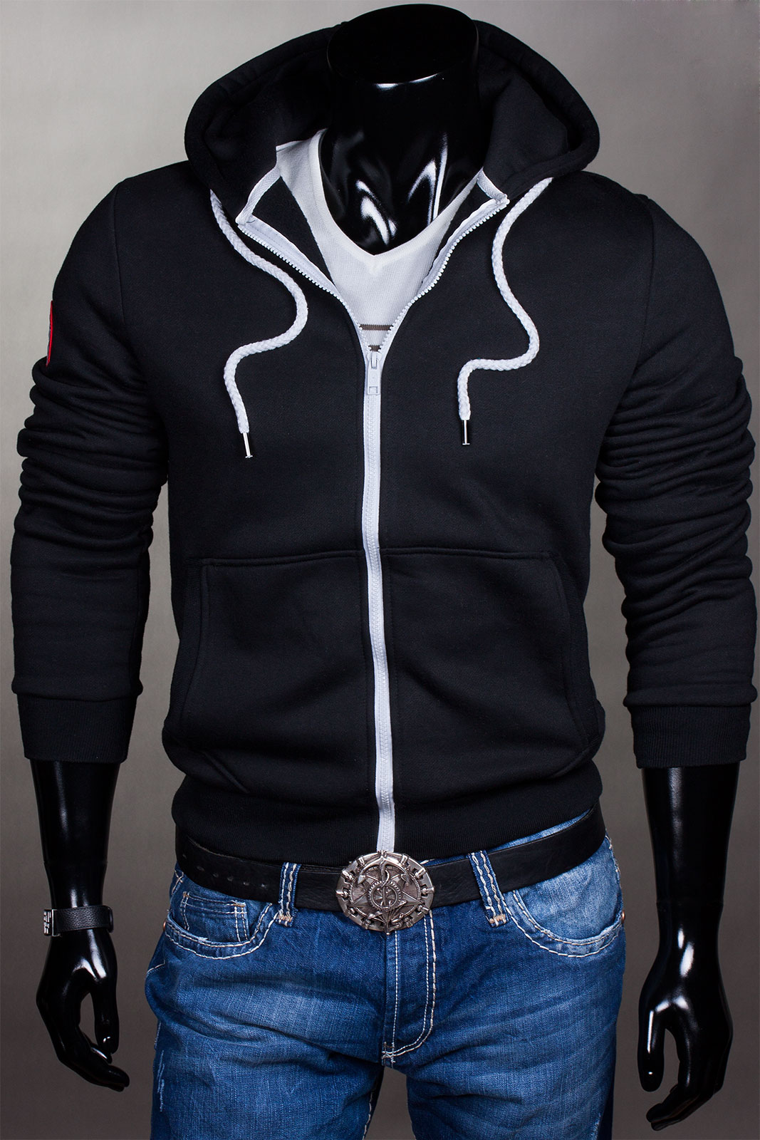 kapuzen pullover sweat hoodie jacke pulli herren. Black Bedroom Furniture Sets. Home Design Ideas