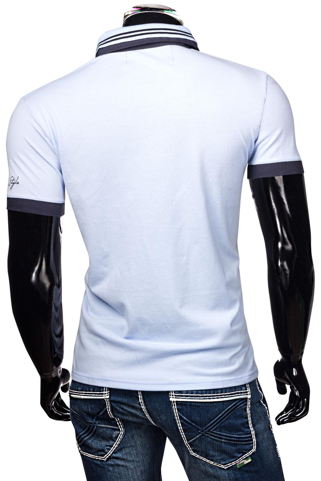 trisens herren poloshirt t shirt shirt hemd party slim fit. Black Bedroom Furniture Sets. Home Design Ideas
